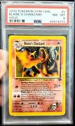 Blaineand039s Charizard Corrected Energy Symbol Holo Psa 8 Nm-mint - Gym Challenge...