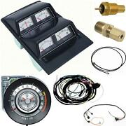 Oer 1968 Camaro Console Gauges W/ Wiring And Tach 5500 At Fs