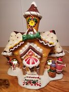 Oandrsquowell 2001 Limited Edition Sugarplum Valley Village Lighted Gingerbread House