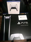 Playstation 5 Digital Edition With Extra Controller