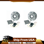 Moog 2pcs Front Wheel Bearing And Hub Assembly For Ford F250 05-09 5c3z1104baa