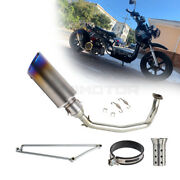 Motorcycle Exhaust Systerm Tips Front Link Muffler Pipe For Icebear Maddog 150cc