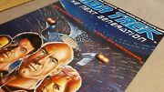 Star Trek The Next Generation - The Naked Now Plus 1987 Uk Video Poster