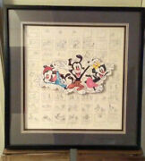 Animaniacs Storyboard Limited Edition 646 I'm Cute '94 Autographed Animation Art