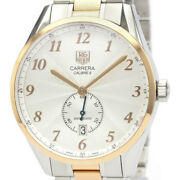 Polished Tag Heuer Carrera Heritage Calibre 6 Automatic Watch Was2151 Bf521201