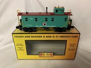 ✅mth Railking Northern Pacific Steel Caboose 30-7772 For Diesel Steam Engine