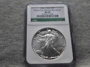 1986 Silver Eagle Ms69 From The Windy City Monster Box Hoard Ncg Certified