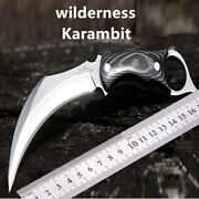Profession Military Karambit Knife Claw Knifes Combat Machete Tactical Hunting