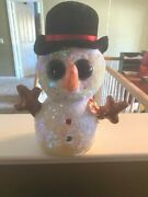 Ty Flippables 9-10 Melty Christmas Snowman Sequin 2019 - Sold Out Edition