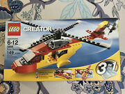 Lego Creator Rotor Rescue 5866 Factory Sealed Discontinued 2010 Not Used