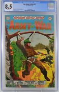 Our Army At War 12 Cgc 8.5 Single Highest Graded Copy 1953
