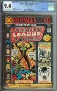 Justice League Of America 112 Cgc 9.4 Ow/wh Pages // 100 Page Nick Cardy Cover