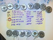 Lot Of 7-sets- Lincoln Gage - Thread Ring Gages - Assorted Sizes