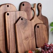 Home Kitchen Chopping Boards Solid Wood Bread Fruit Vegetable Cutting Hang Board