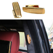 Golden Zinc Alloy Sv Clothes And Hat Hook Cover Trim For Range Rover L405 13-20
