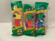 3 Vintage Pez Dispensers Rare Semi Trucks With No Feet New In Packages