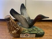 1979 Collectible Ducks Unlimited Regal China Decanter Of Jim Beam 100 M - Empty