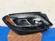 2014 2015 2016 2017 Mercedes S Class Right Led Headlight Oem Tabs Good Complete