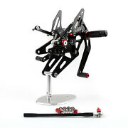 Rearset Rear Set Fit For Yamaha Yzf 1000 R1 2004-2006 New Black New Us Stock
