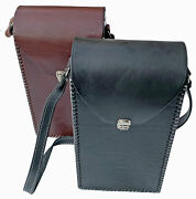 Argentine Handmade Leather Shoulder Bag For Stanley Thermos And Mate.