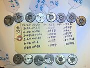 Lot Of 7 Sets- Lincoln Gage - Thread Ring Gages - Assorted Sizes