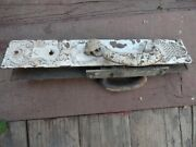 Antique Wrought Steel Door Latch Lock And Plates Russell And Erwin 7946 3 X 16