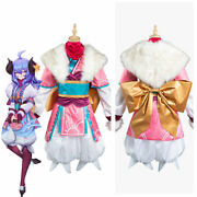 League Of Legends Lol Hunters Spirit Blossom New Skin Cosplay Costumes Suit