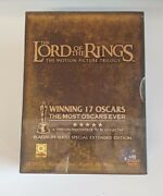 🔶️the Lord Of The Rings - Extended Trilogy Pack Dvd 2004 12-disc Box Set Rg. 3