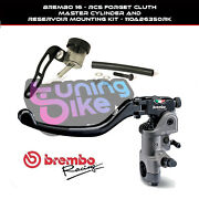 Brembo Radial Clutch Master Cylinder 16rcs + Oil Tank Kit For Ducati St3 04-07