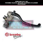 Brembo Radial Brake Master Cylinder 19x20 Forged For Ducati 749/r/s/r/s 03and039-06and039