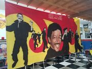 Kool And The Gang Wall Art - Huge 24' X 8' 1 Of A Kind Custom Mural For Museum