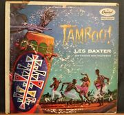 Vintage Lp Tamboo By Les Baxter His Chorus And Orchestra Capitol Records T655
