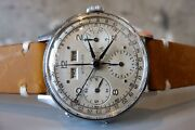 Oh Vintage 1960and039s Wittnauer Longines Valjoux 72c Triple Calendar Chronograph