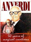 Anverdi-50 Years Of Magical Creations 1st Ed-stage Illusion-liquids-electronics