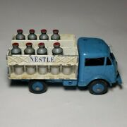 Dinky Toys Nestle Delivery Truck Blue White France Meccano Milk Cans Churns 25o