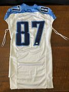 Kevin Dyson Signed Game Used Tennessee Titans Jersey Psa Dna Coa Autographed