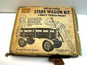 Vintage Sears Spee-dee Express Stake Wagon Build Kit Marx Toys Build It Yourself