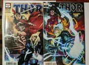 Thor 4 2 Copies 1st Cameo App Of Black Winter Regular And Spider-woman Variant