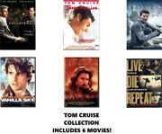 Tom Cruise 6 Film Dvd Collection Collateral/jerry Maguire/oblivion/vanilla Sky