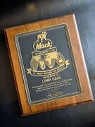 Mack Truck Two 2 Million Mile Club Bulldog Metal Wood Sign Plaque Personalized
