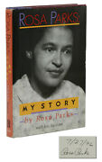 My Story Signed By Rosa Parks First Edition 1st Printing 1992 Civil Rights