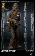 Sideshow Chewbacca Exclusive Statue Star Wars Factory Sealed Figure Le 441/1000