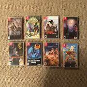 12 Brand New Factory Sealed Nintendo Switch Video Game Lot