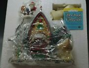 Department 56 Rudolph's And Bunk House Storybook Collection Lighted Working Mib