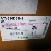 1pc New In Box Atv610d55n4 One Year Warranty Fast Delivery Sn9t