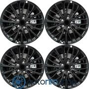 New 18 Replacement Wheels Rims For Toyota Camry 2018-2020 Set Black