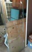2 Shower 30 X 68 Sliding Shower Glass Doors Clear Tinted With Top Frame