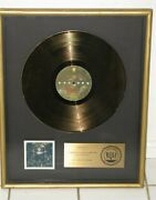 George Harrison Riaa Gold Sales Award For 1976 Album The Best Of George Harrison