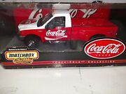 Matchbox Coca Cola 1999 Ford F350 Superduty Pickup 124 Scale Diecast Model New