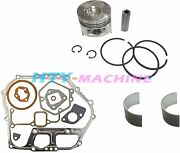 Piston And Gaskets And Bearing For Yanmar Engine And Generator L100 186f 10hp